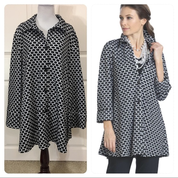 5b6f130df4e12 IC Collection 3 Button Honeycomb Jacket
